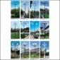 厂家直销户外3米园林花园庭院灯球场led投射灯广场景观灯价格