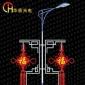 供应LED中国结|防水抗风的LED发光中国结|节日亮化LED中国结西安华宸光电