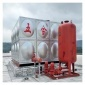 广西消防不锈钢水箱 不锈钢消防水箱批发 不锈钢方形水箱定制