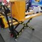 新品优惠 1.5吨剪叉式高升程搬运车手动叉车升高车托盘搬运车地牛